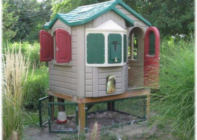 chicken coop recycle
