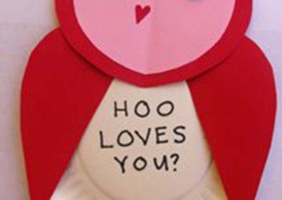 hoo loves you owl