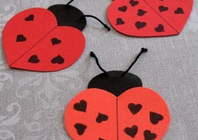 lady bug valentine