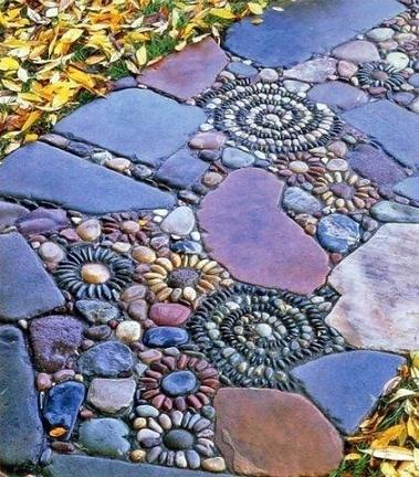 mosaic walk