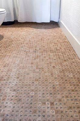 scrabble floor