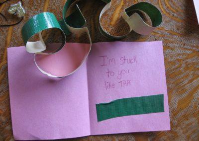 tape valentine